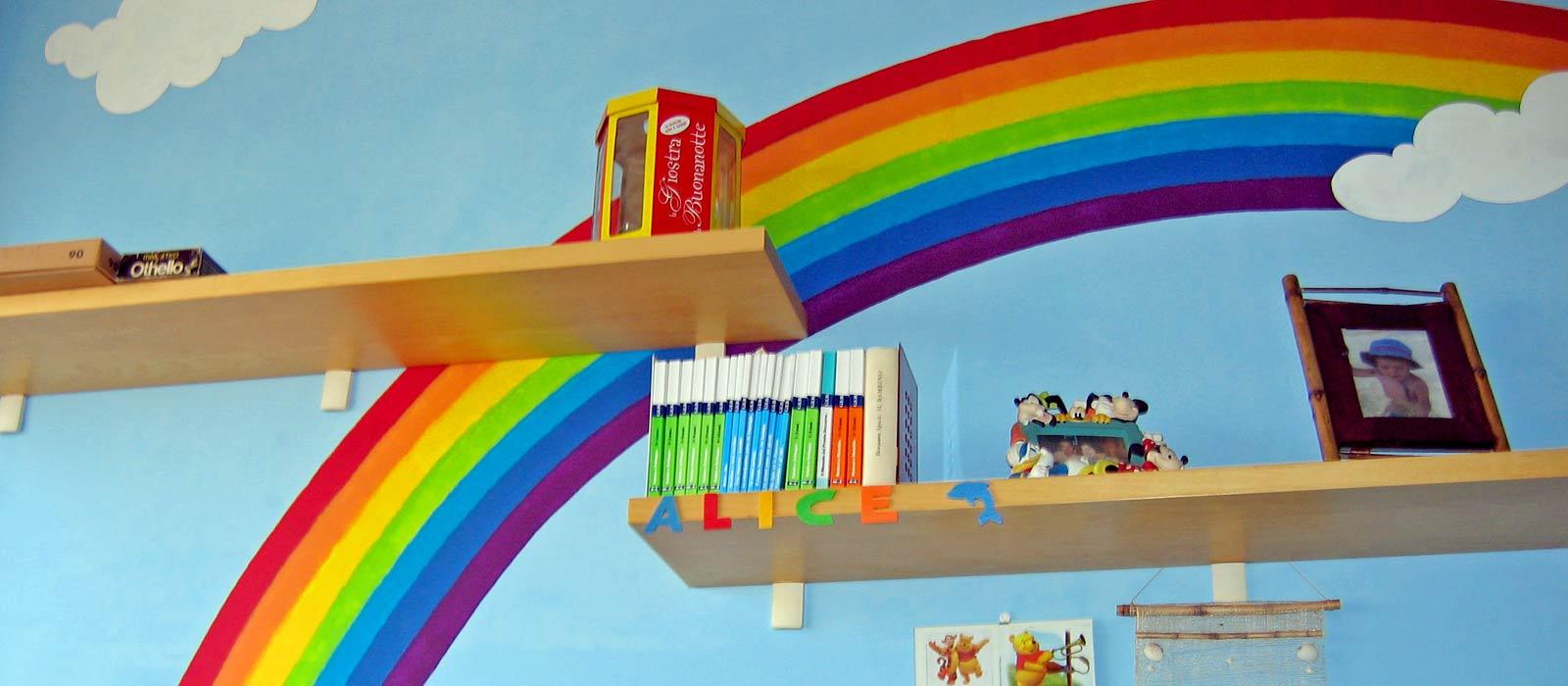 Decorazioni Camera Da Letto decorazione camera da letto per bambini - impresa edile